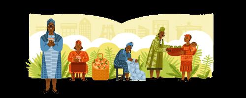 Google Doodle of Esther Ocloo