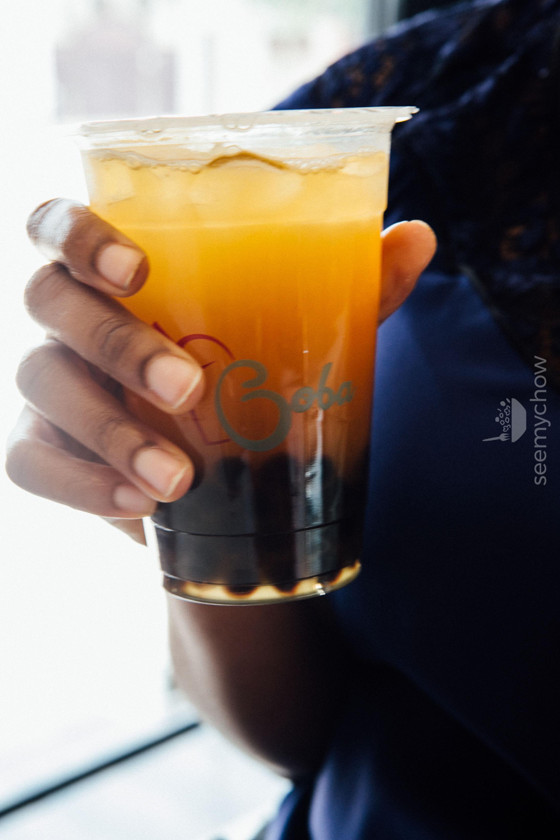 Kumquat Bubble Tea