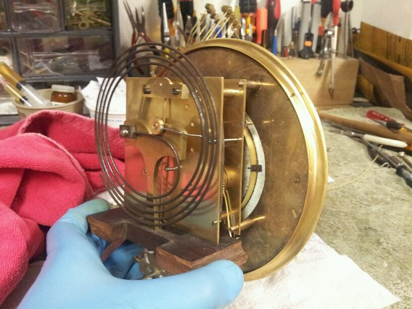 Vienna Regulator Movement-Cleaned and Oiled