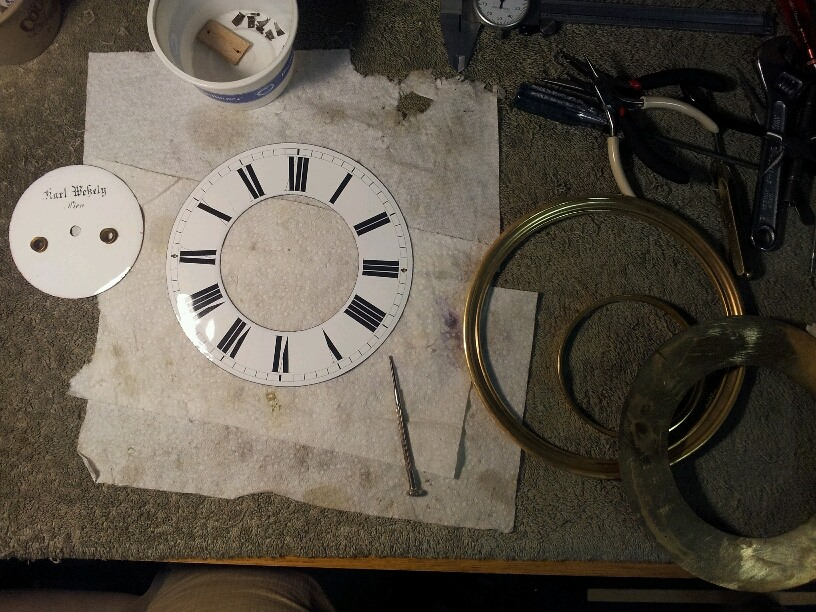 Dial cleaning