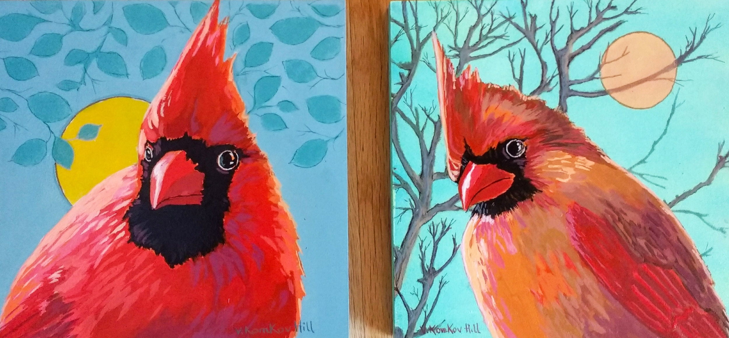 Two Cardinals-2017