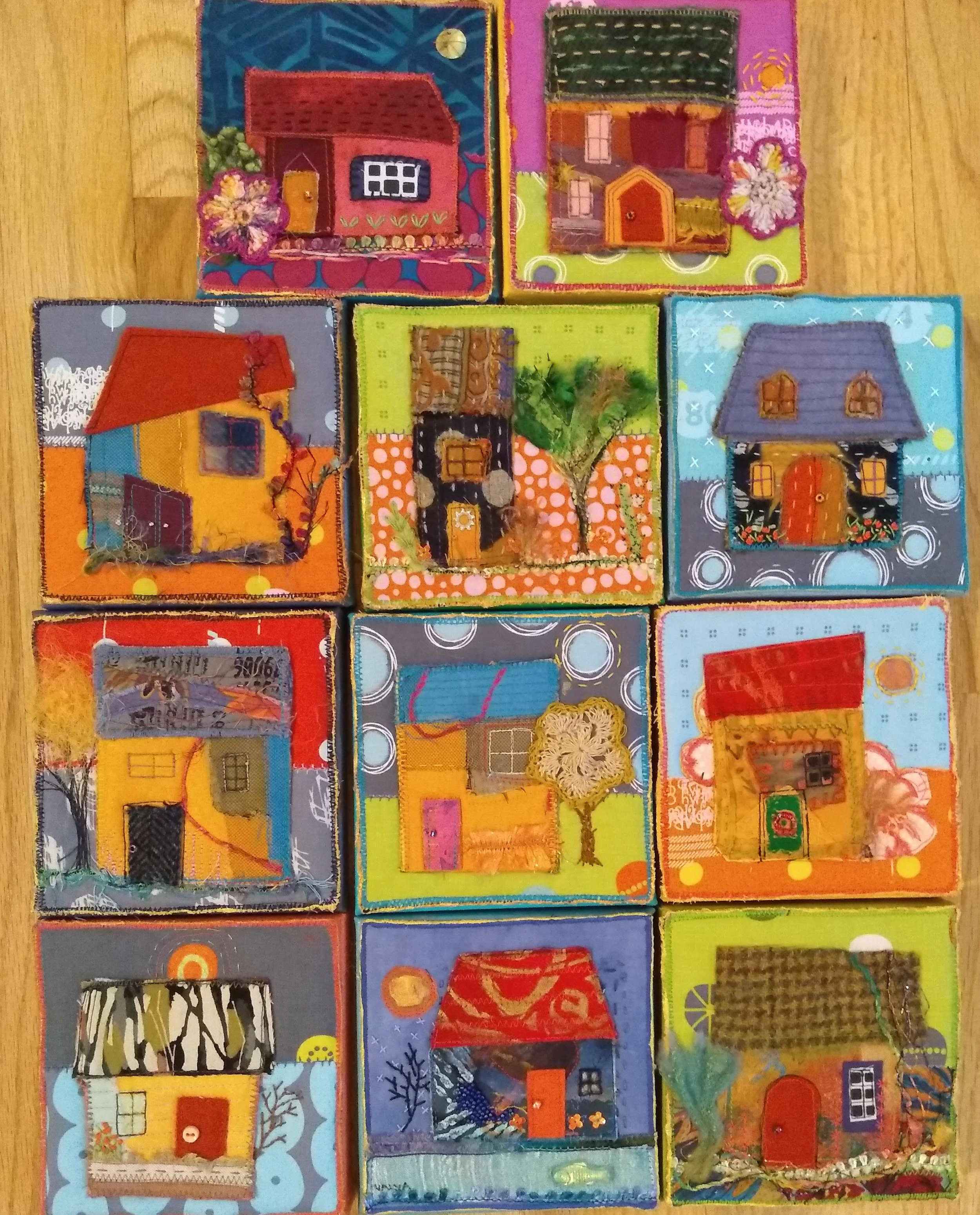 Little House series-grouping of earliest houses