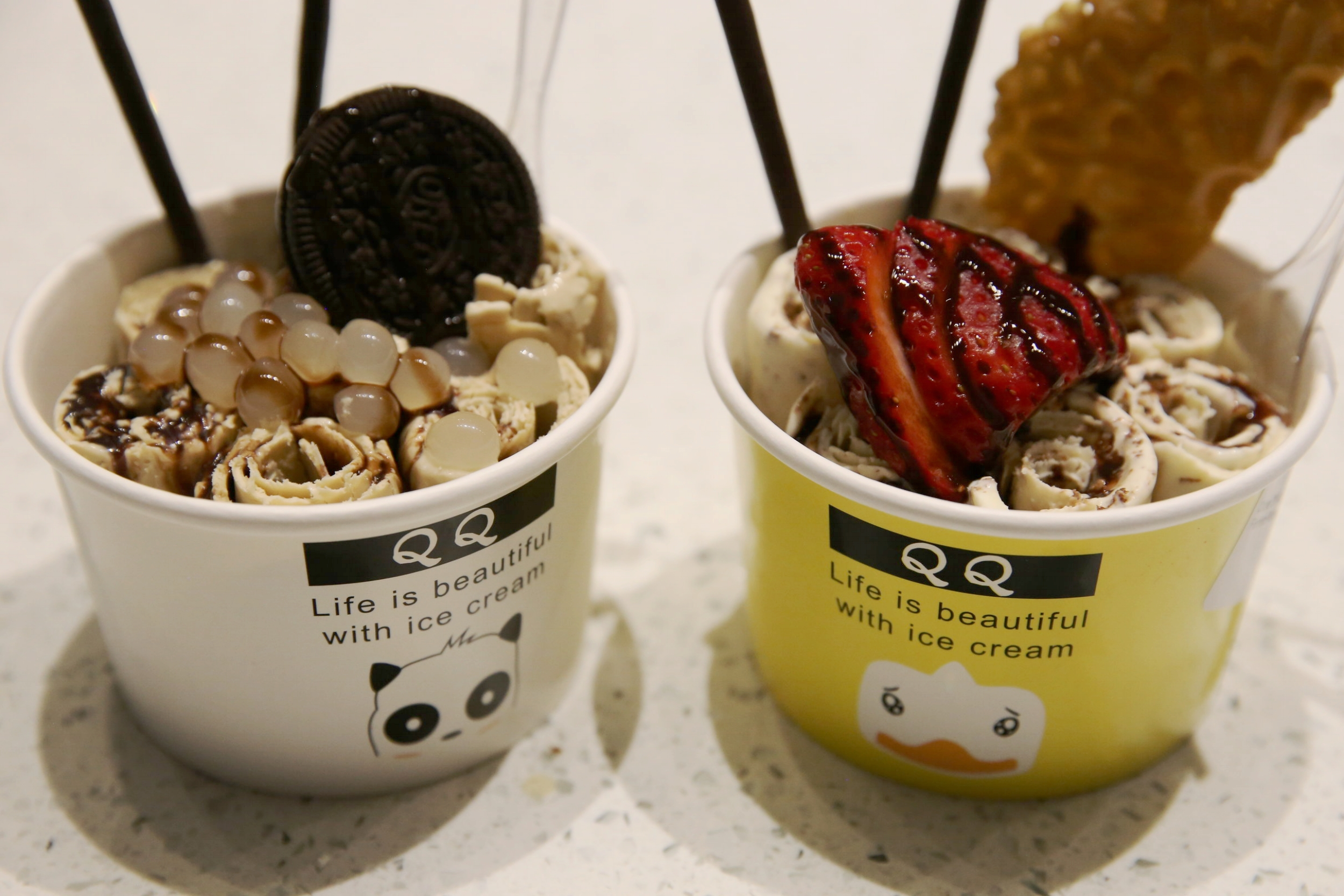 Minnie Tang Qq Thai Ice Cream