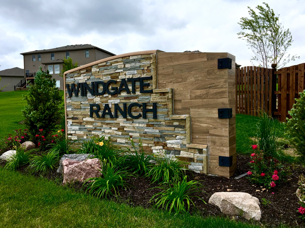 WINDGATE RANCH IS LOCATED AT 211TH AND PACIFIC STREETS AND IS HOME TO POPULAR ELKHORN valley view MIDDLE SCHOOL.