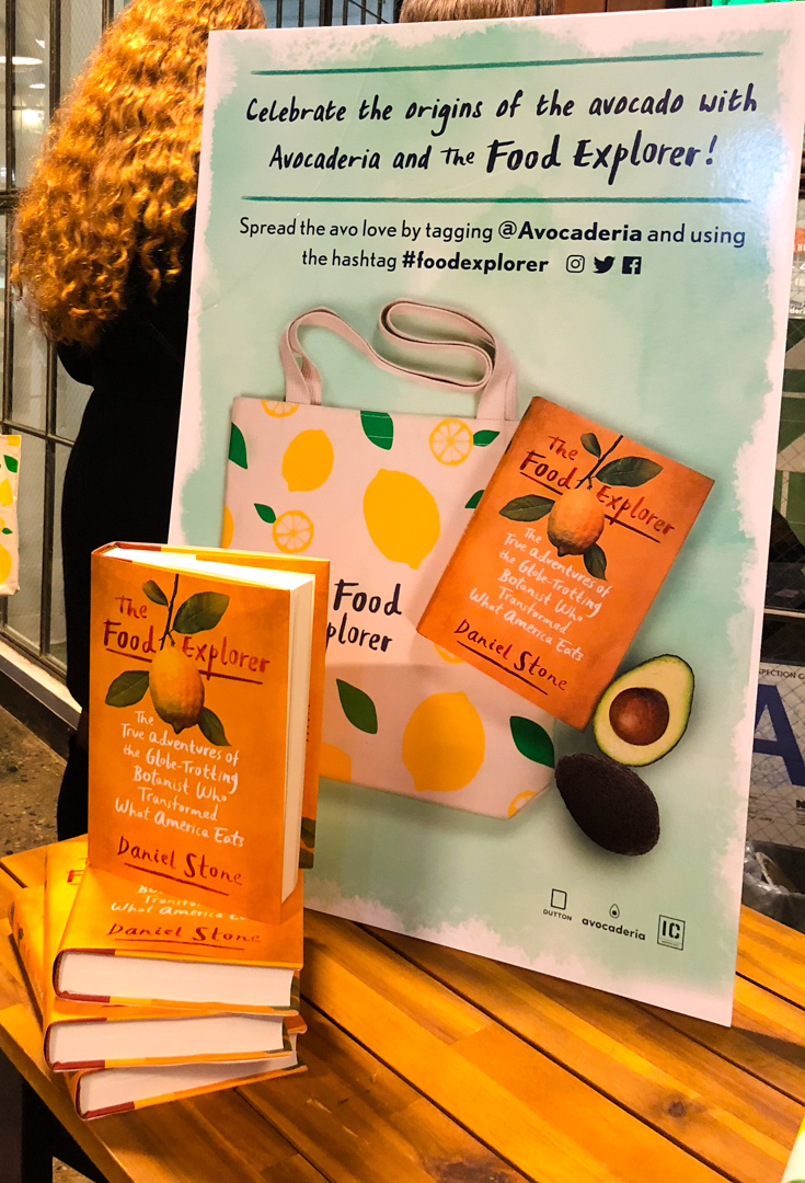 50 of our lucky customers received a copy of Daniel Stone's The Food Explorer .