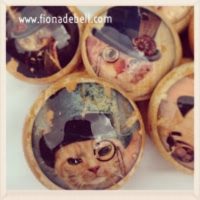 Steampunk Cat Knobs