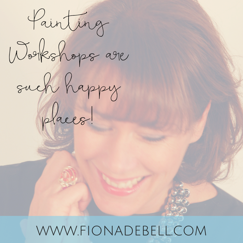 Every workshop is full of smiles.