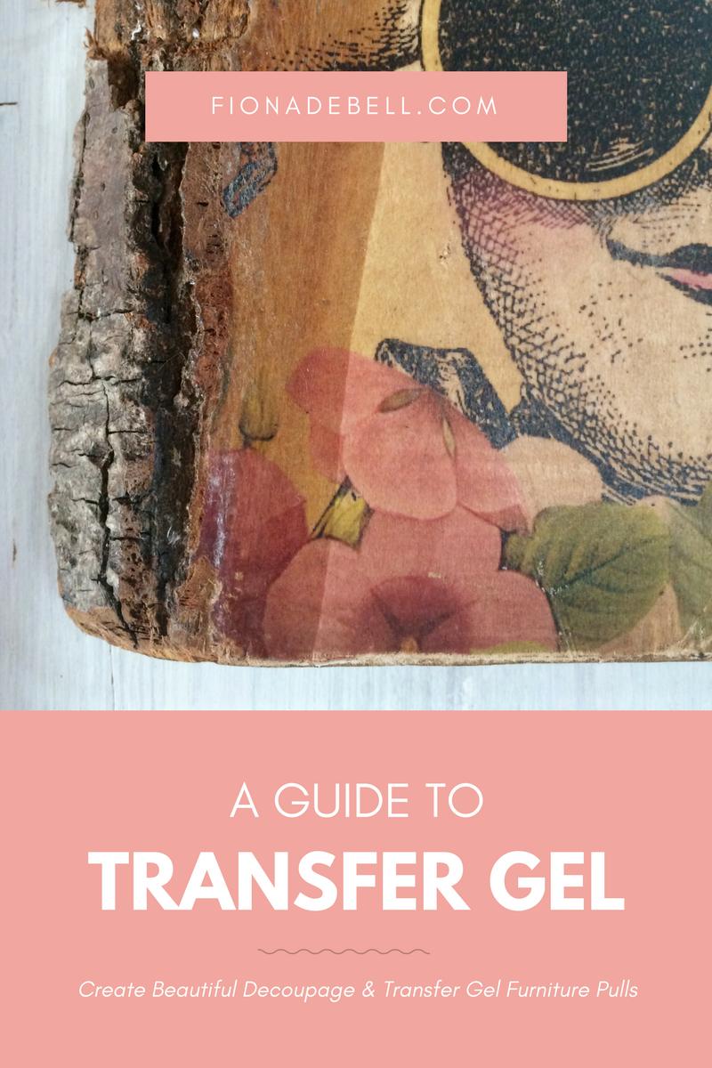 Transfer gel