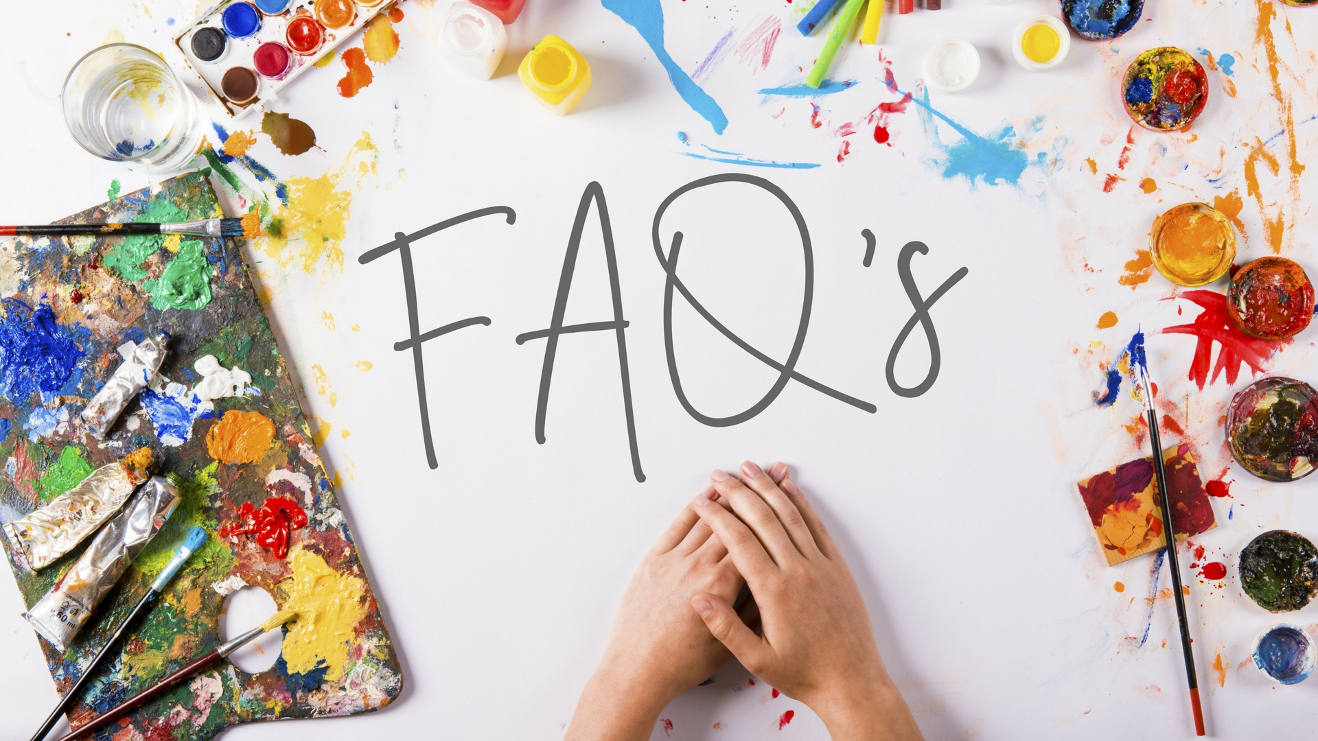 Frequently Asked Questions for Fiona Debell's Paint and Craft Workshops. | fionadebell.com