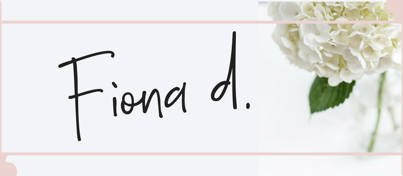 Fiona Debell signs off her blog. | fionadebell.com
