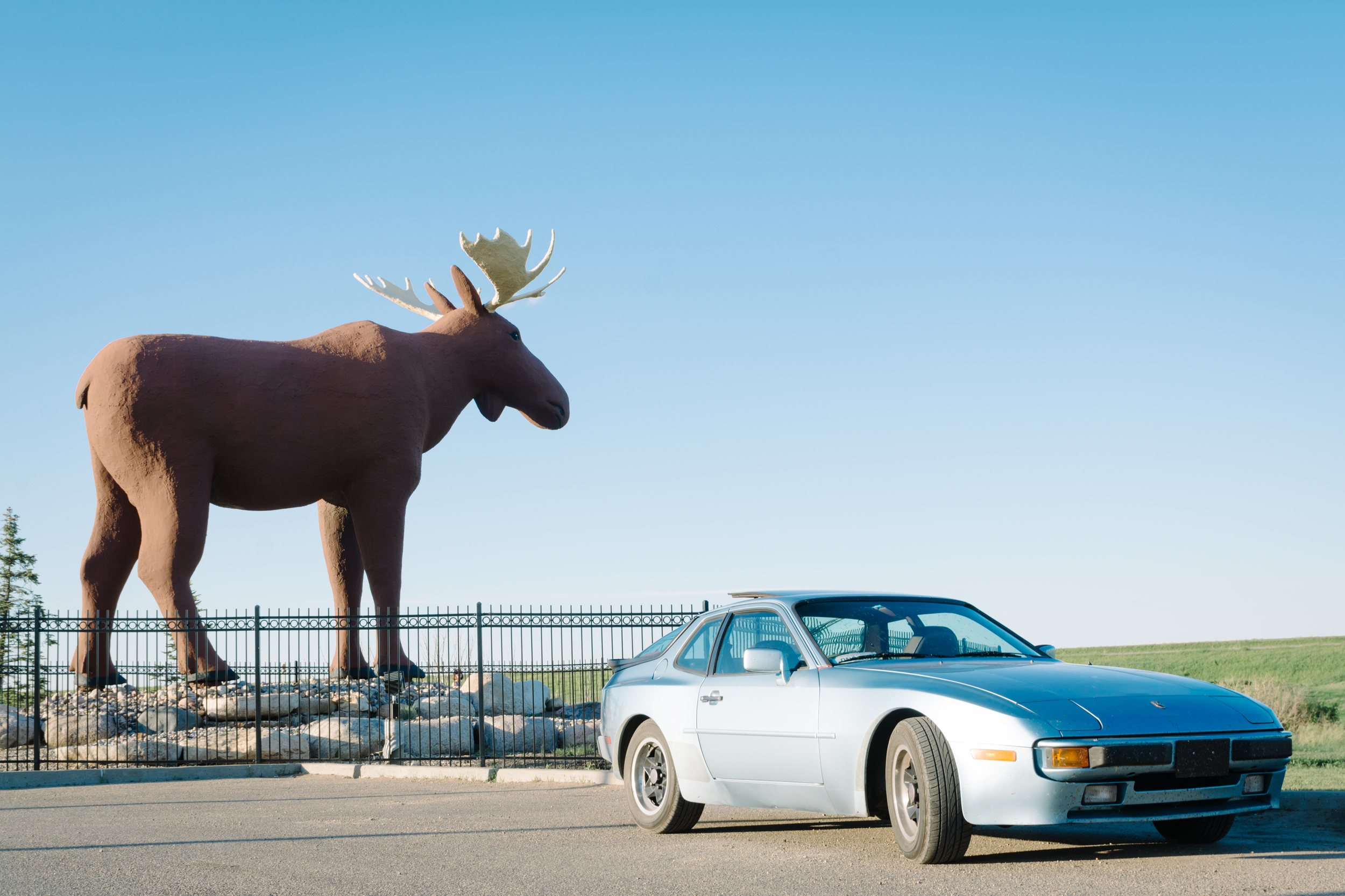 My nickname has been Elliot Moose for as long as I can remember, so we felt obliged to stop and take this photo in Moosejaw