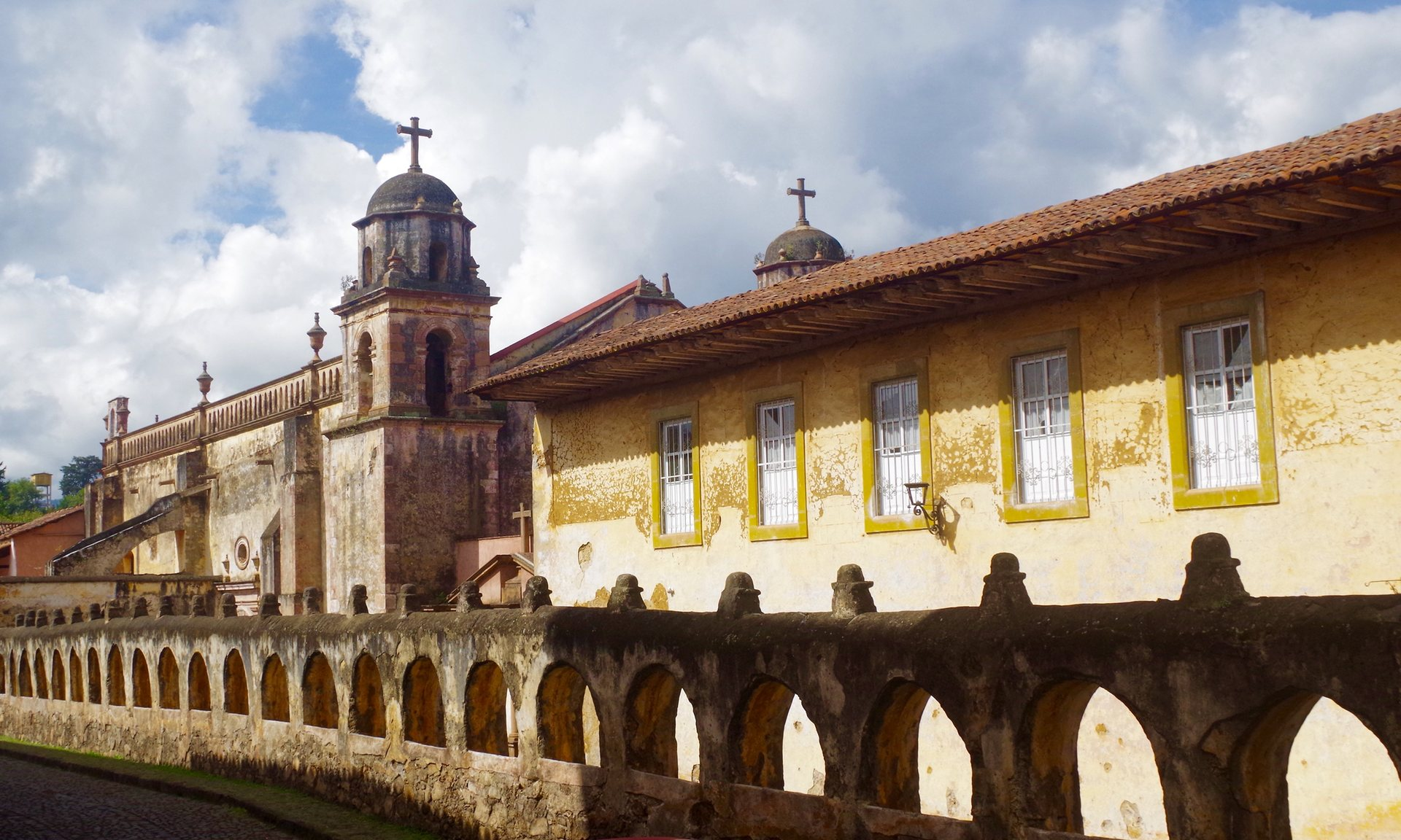 Templo del Hospitalito. All photographs: Erica Buist