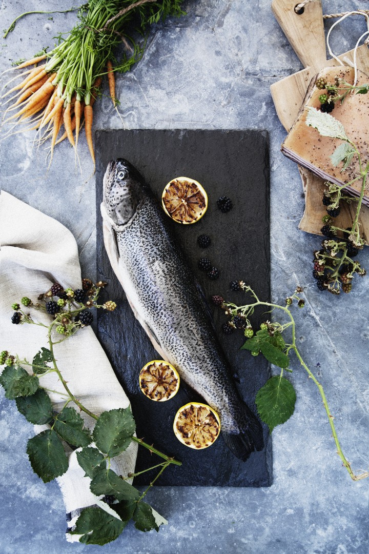 Nothing more nordic than fresh caught fish