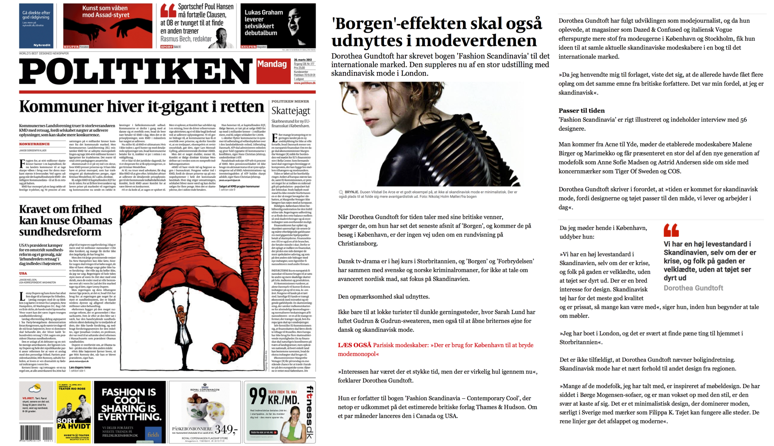 POLITIKEN NEWSPAPER