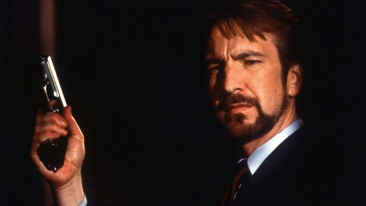 Alan Rickman as Hans Gruber in   Die Hard