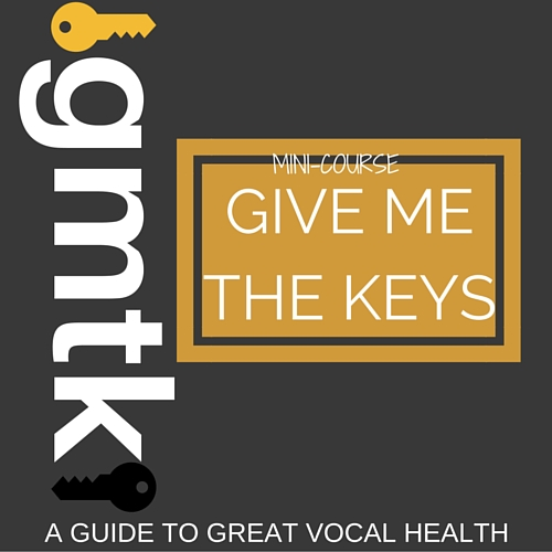 """GIVE ME THE KEYS"" PROVIDES EASY TO UNDERSTAND, IMPLEMENTABLE KEYS TO CREATING BETTER VOCAL HEALTH AND HYGIENE."