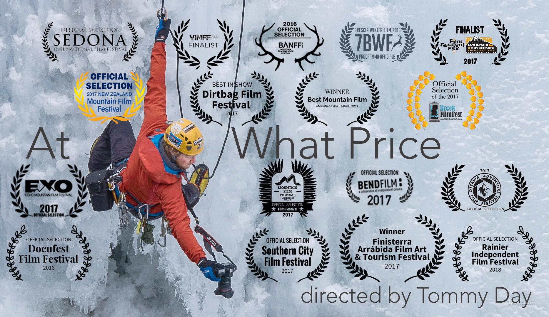 Banff Mountain Film Festival Finalist! World Premiere November 2016