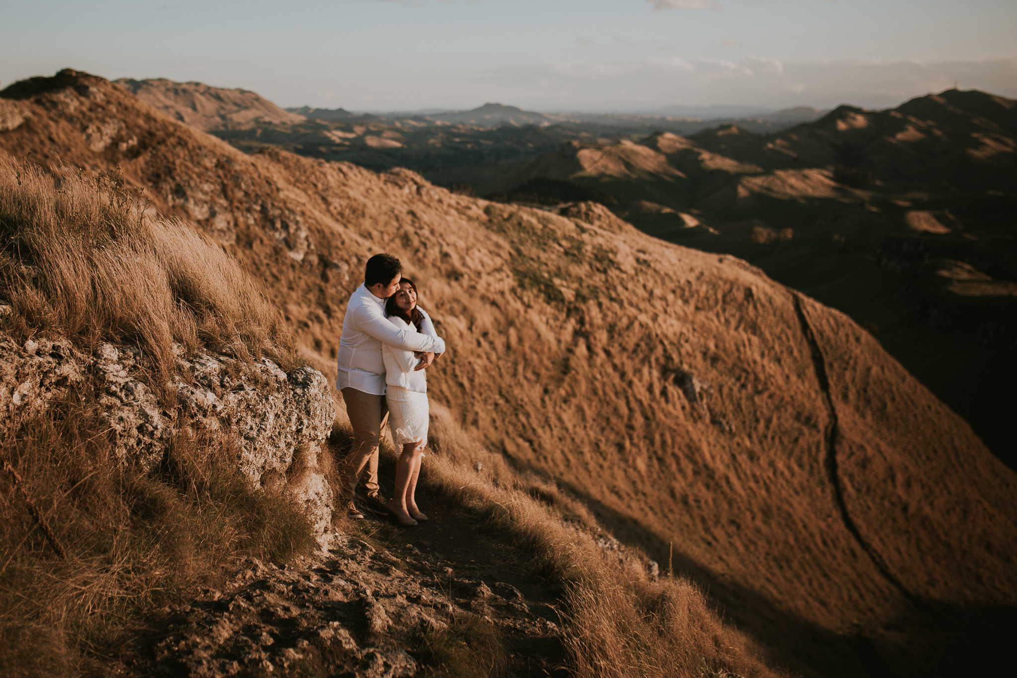 Wedding Photographers Hawkes Bay Te Mata Peak Engagement Shoot Sunset-10.jpg