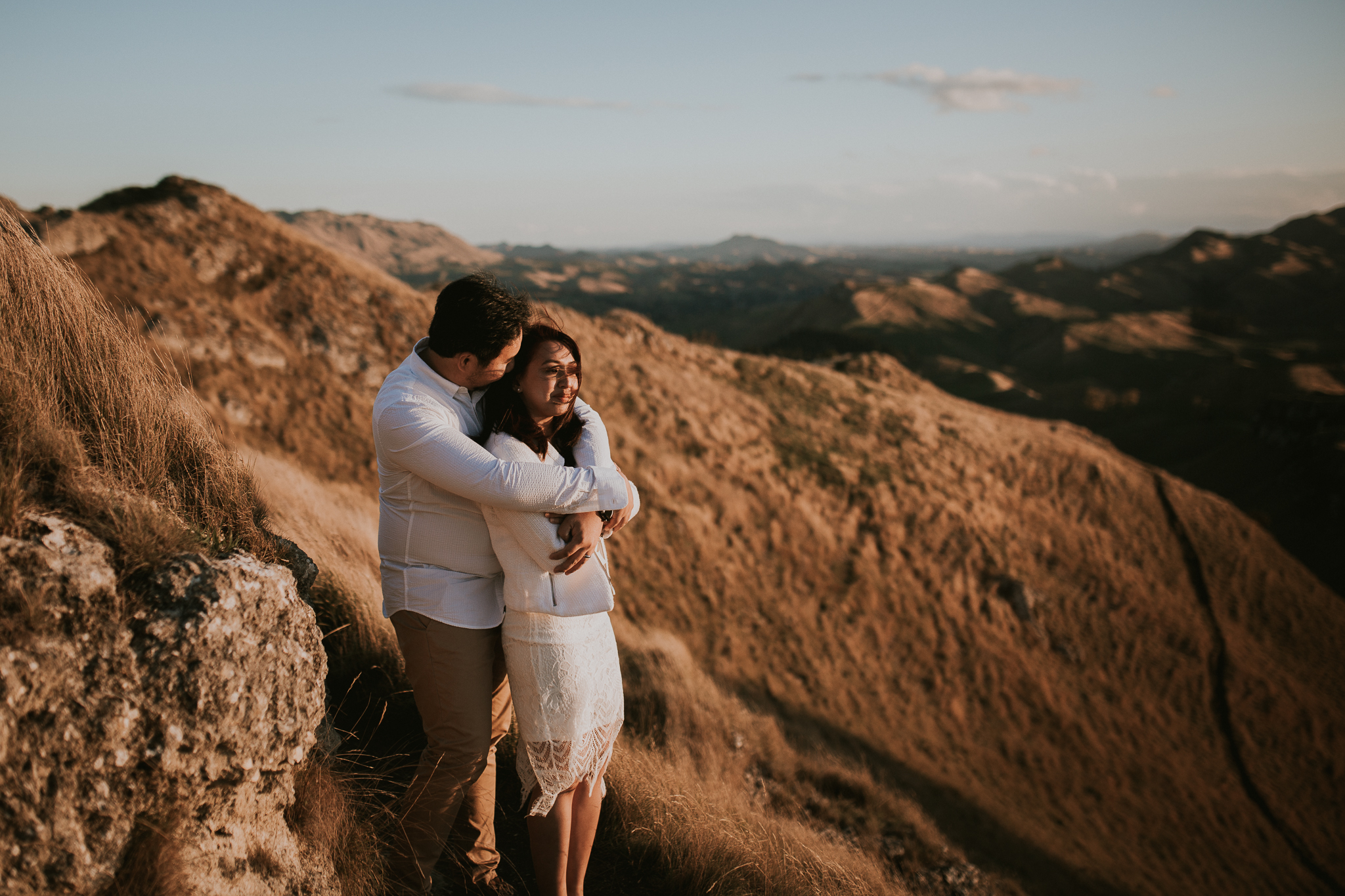 Wedding Photographers Hawkes Bay Te Mata Peak Engagement Shoot Sunset-11.jpg
