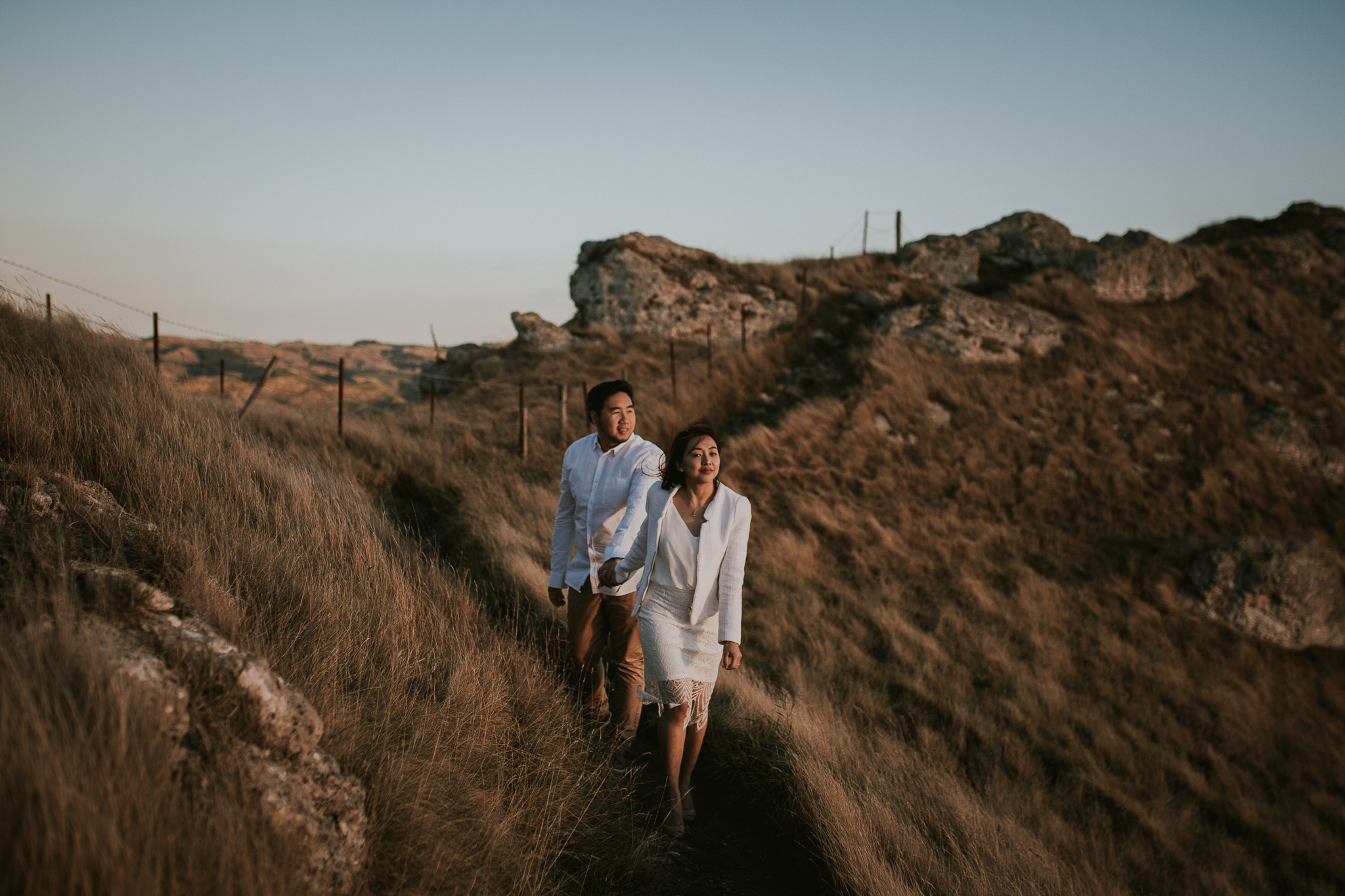Wedding Photographers Hawkes Bay Te Mata Peak Engagement Shoot Sunset-15.jpg