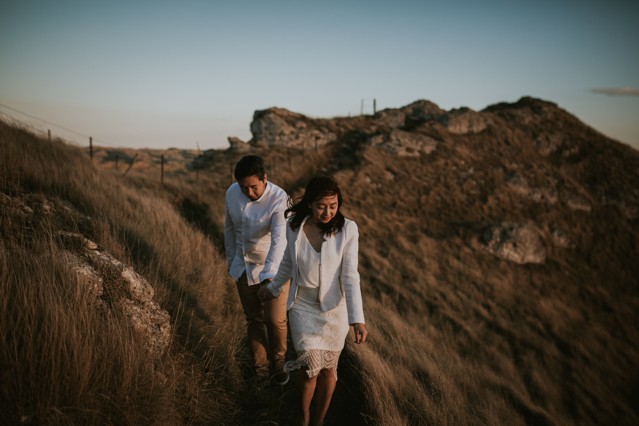 Wedding Photographers Hawkes Bay Te Mata Peak Engagement Shoot Sunset-17.jpg