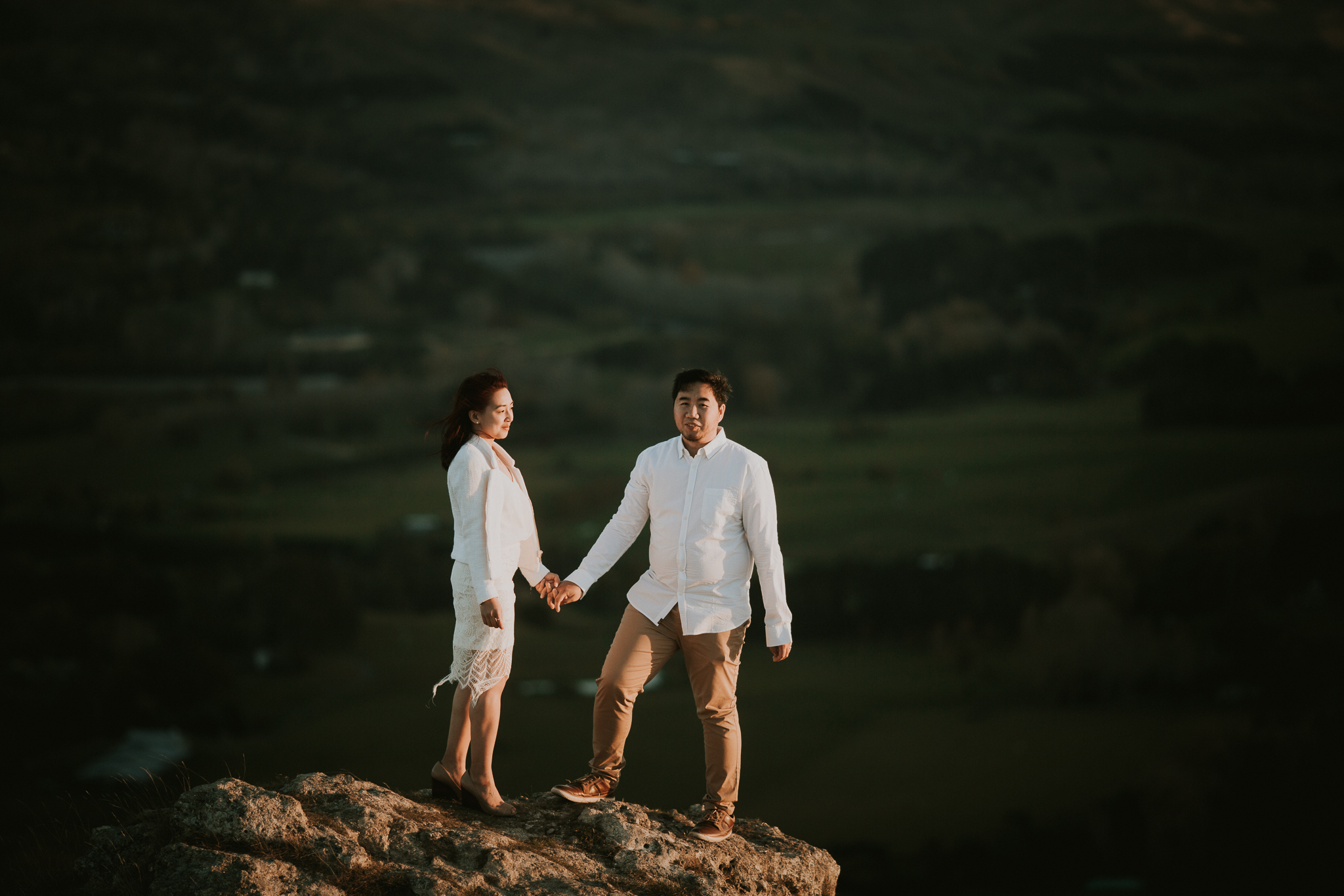 Wedding Photographers Hawkes Bay Te Mata Peak Engagement Shoot Sunset-35.jpg