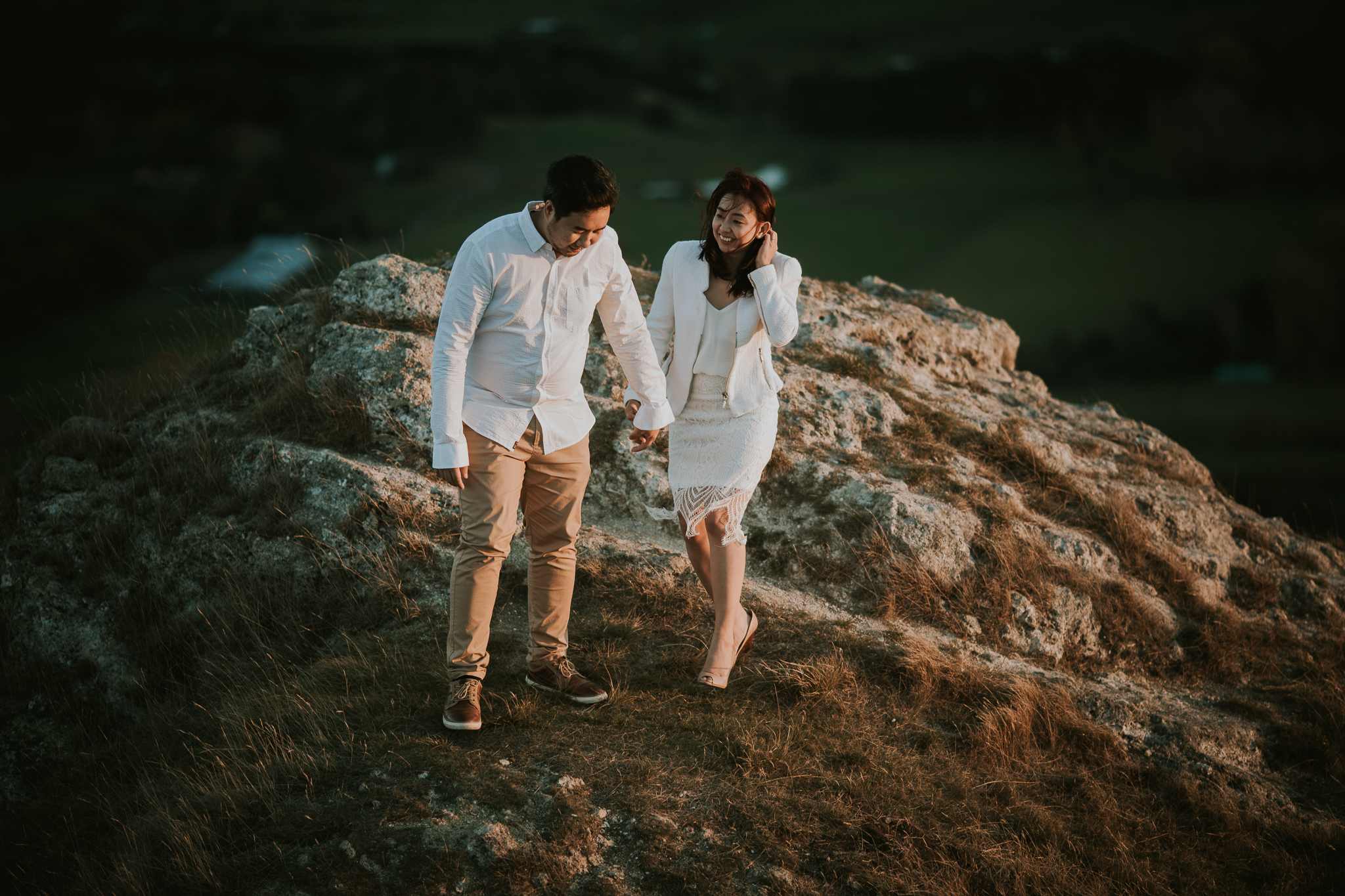 Wedding Photographers Hawkes Bay Te Mata Peak Engagement Shoot Sunset-48.jpg