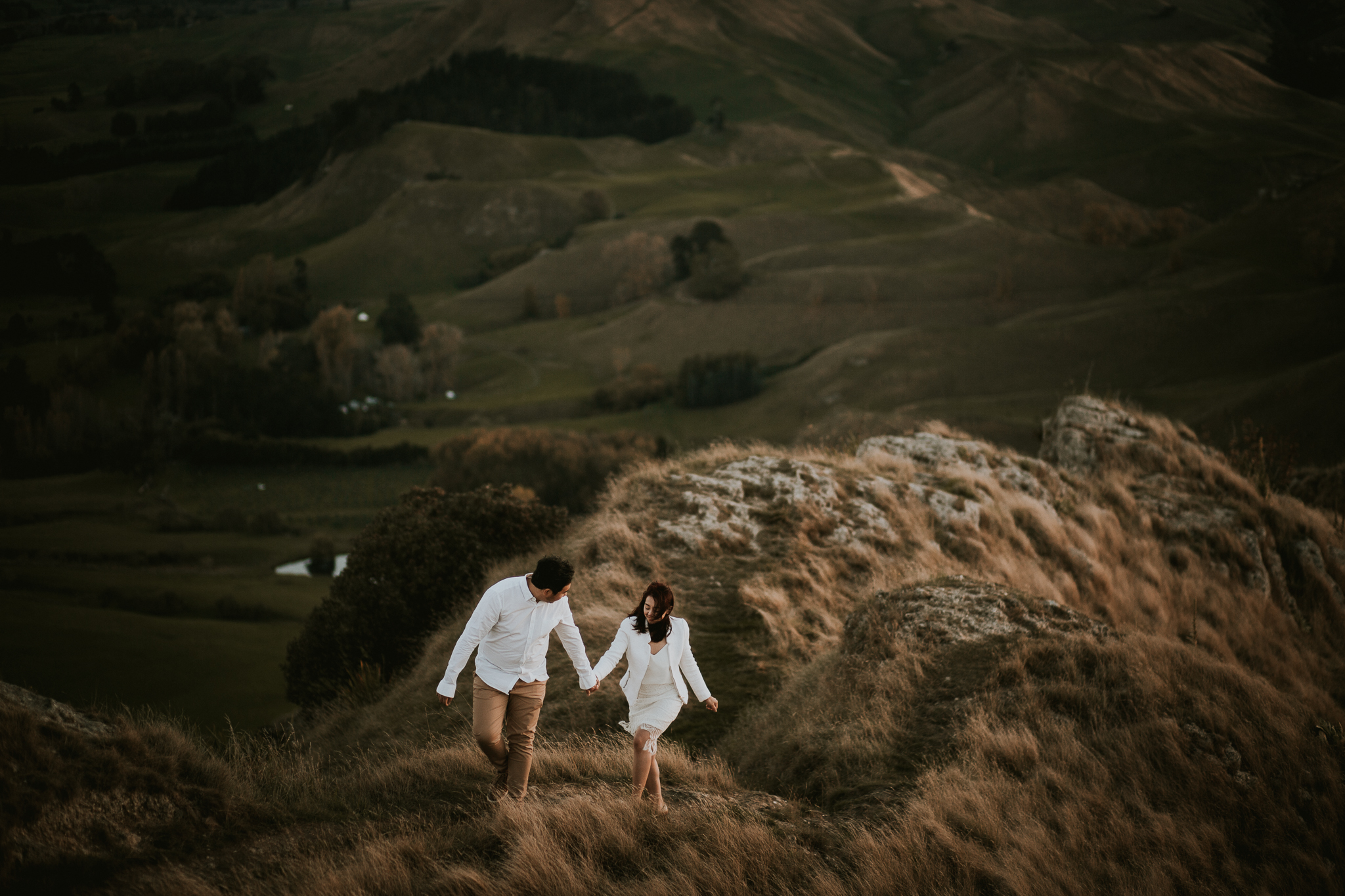 Wedding Photographers Hawkes Bay Te Mata Peak Engagement Shoot Sunset-52.jpg