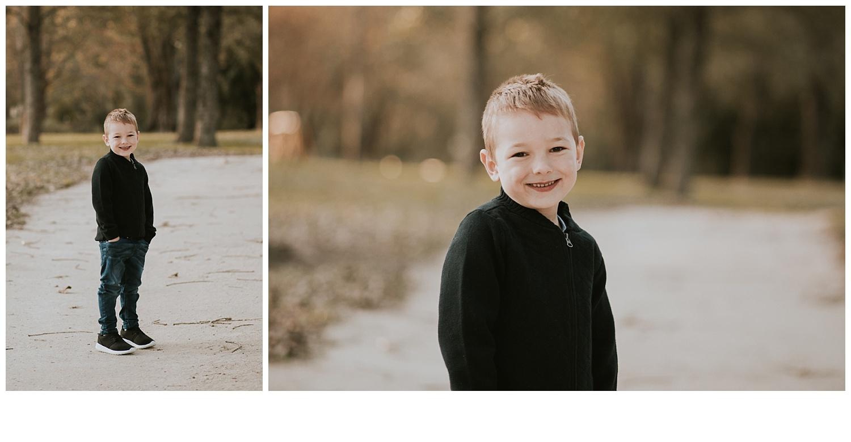 family photoshoot boy posing