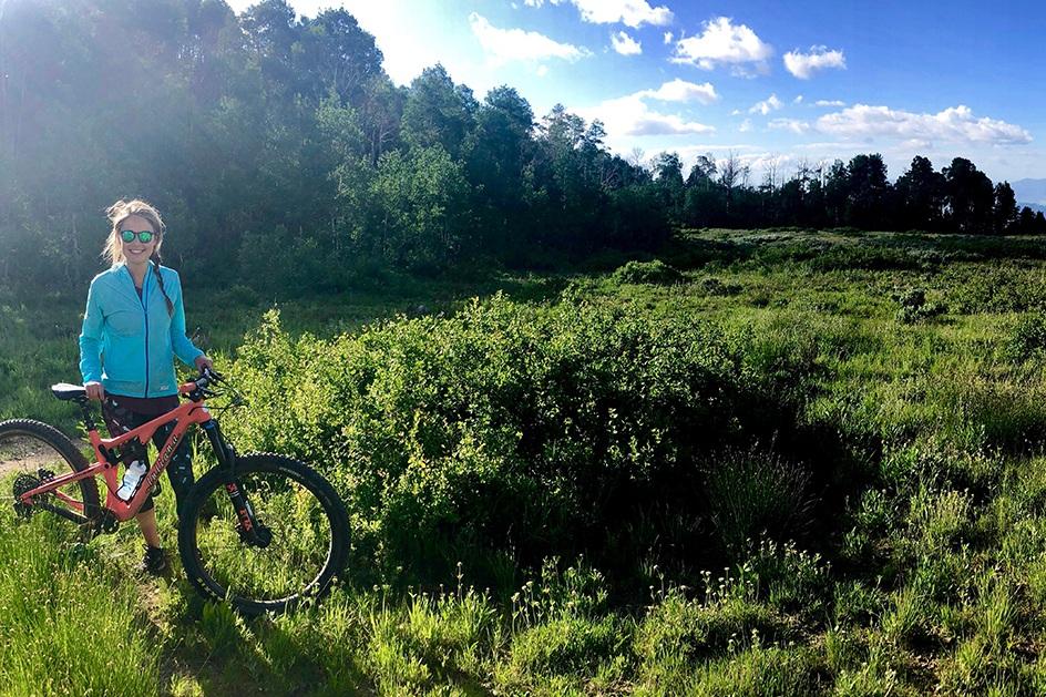 How Learning to Mountain Bike Pushed Me to Make a Major Life Change - Shape