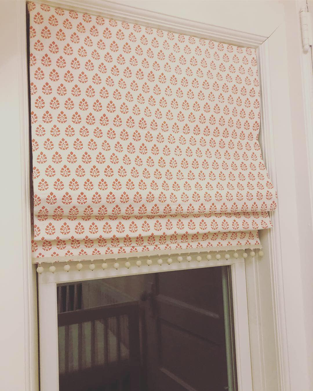 Custom Roman Shades Sew Lovely By Kelly