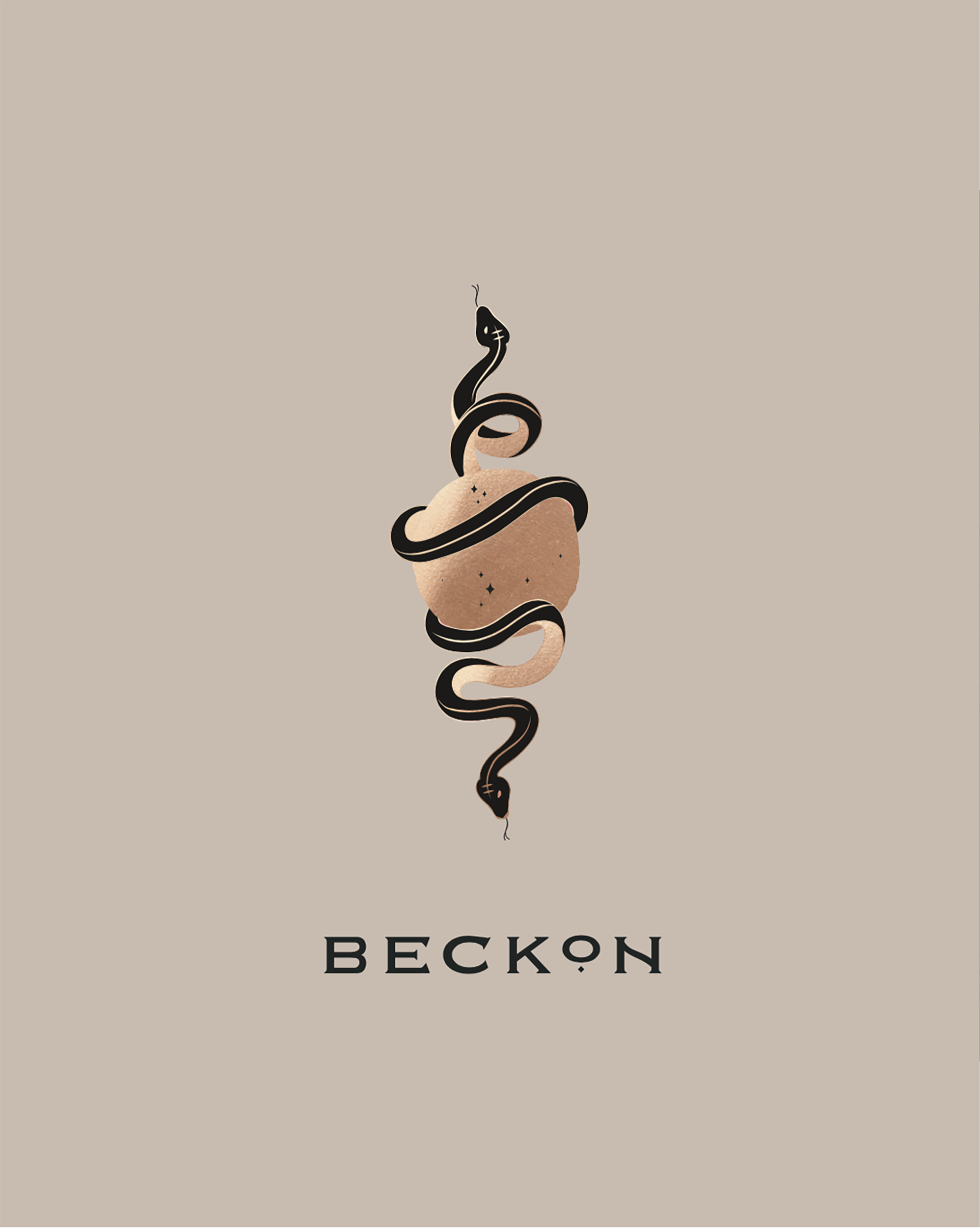 Brand illustration with word mark