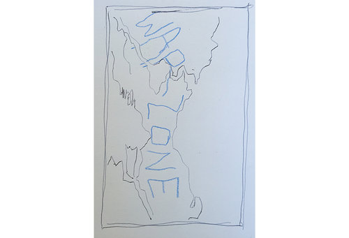 Thumbnail sketch of plan for walks through Seattle  by Matthew Whitney