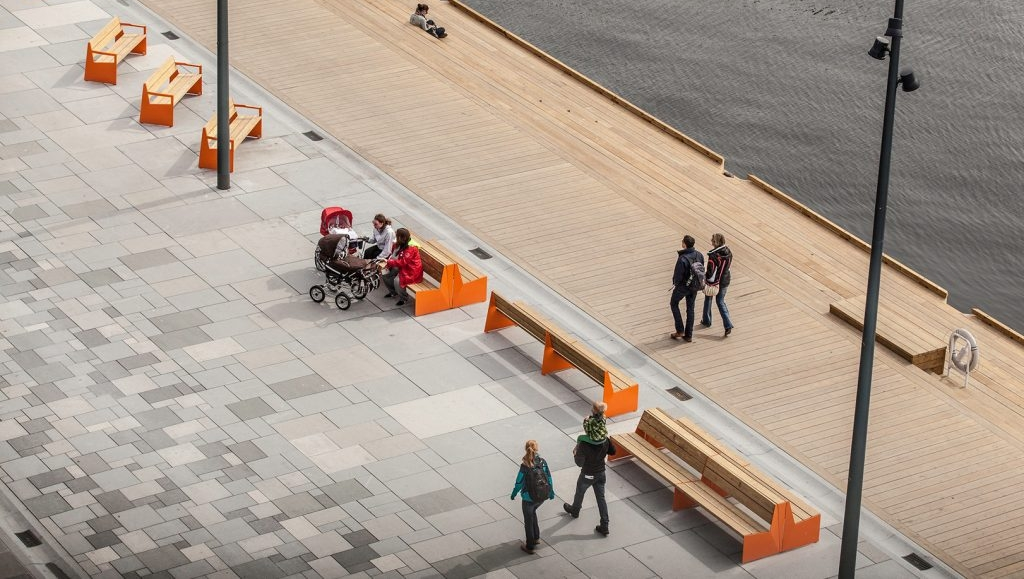 This one's for you, fellow architects! Vestre features great Scandinavian street furniture.