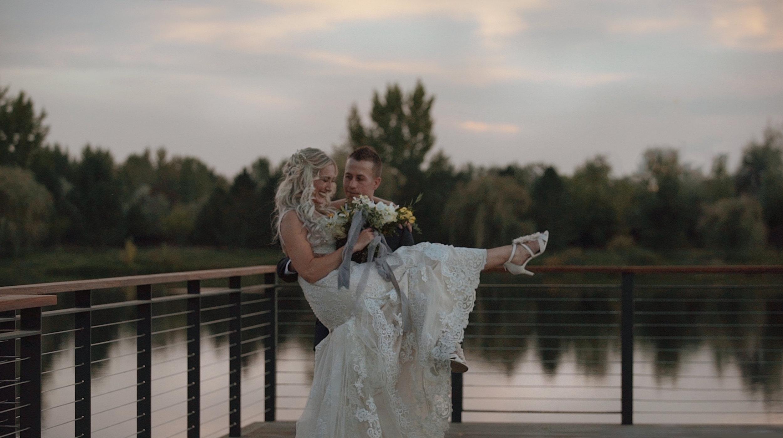 boise wedding video