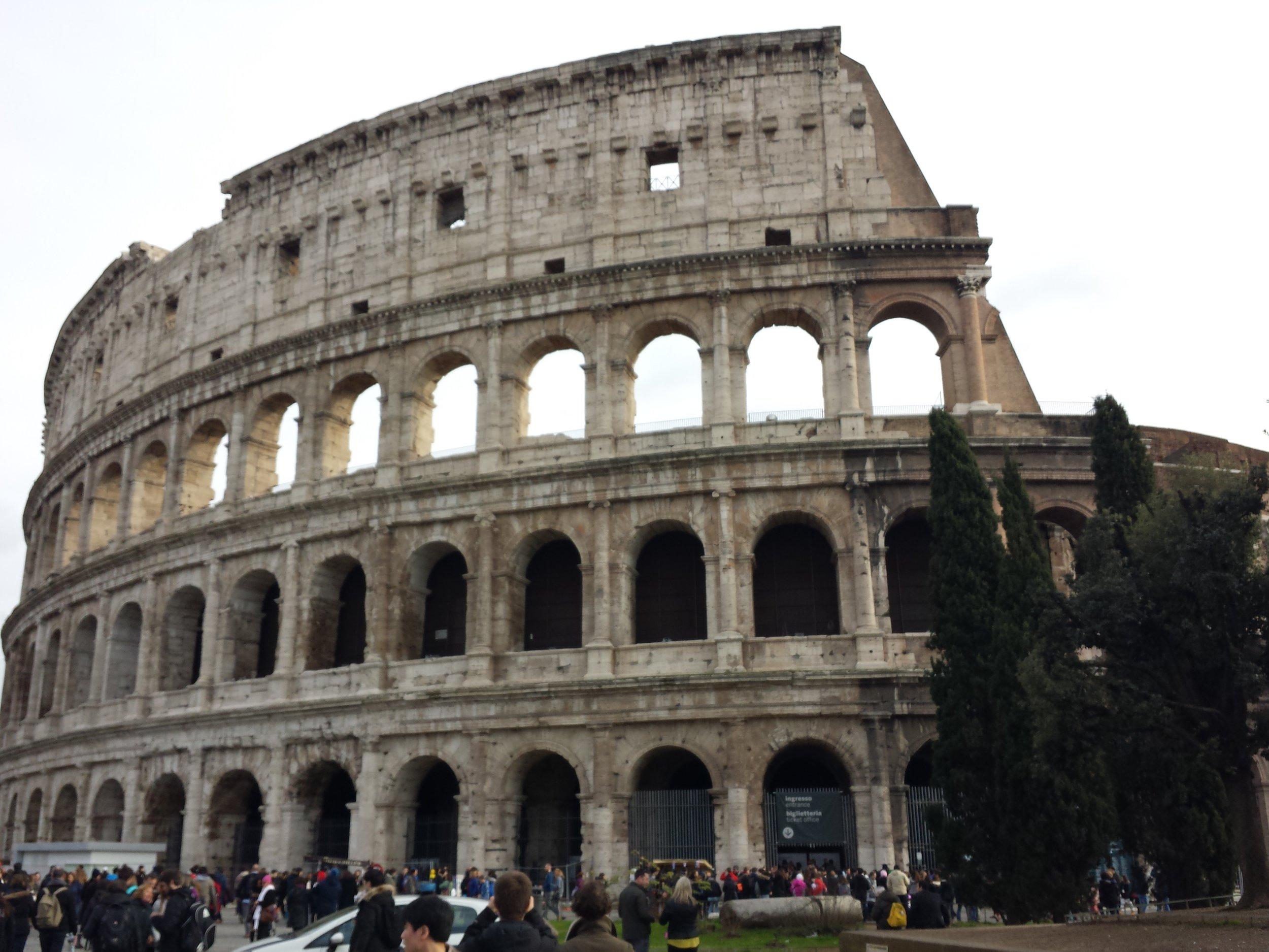 Stunning ancient Colesium
