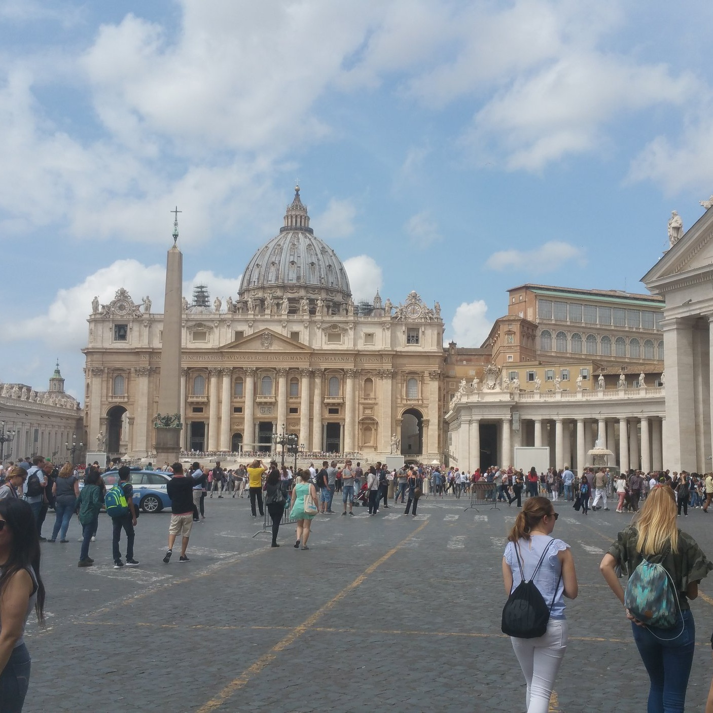ST. PETER'S BASILICA  No visit to Italy is complete without visiting the Vatican