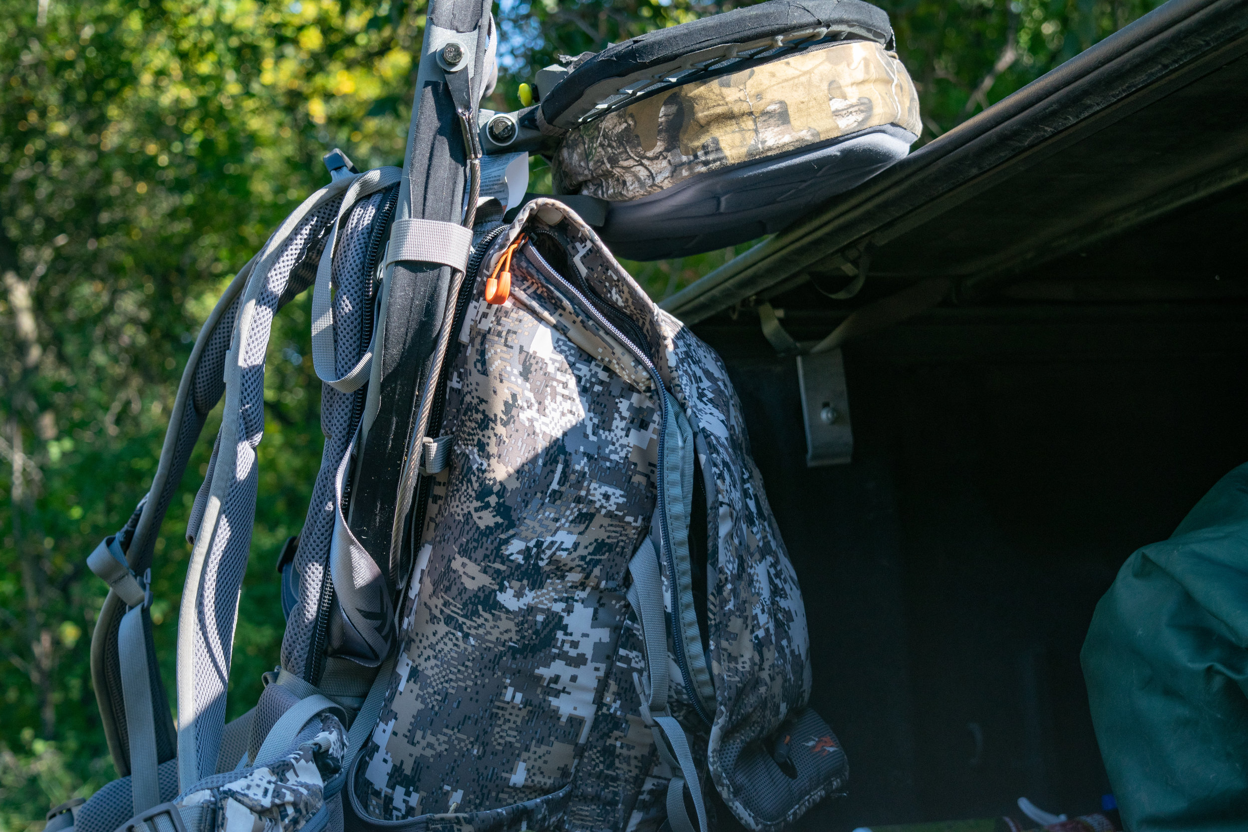 Utilizing a hang and hunt system allows you to adapt to changes deer make throughout the season.