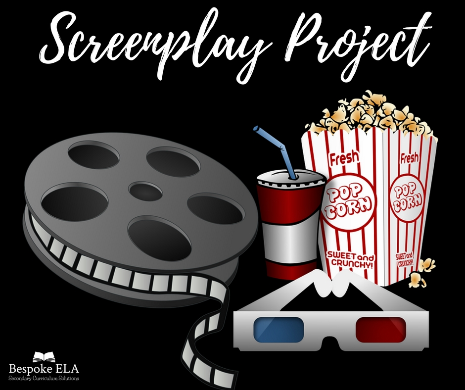 Click on the image above to view the Screenplay Project by Bespoke ELA!
