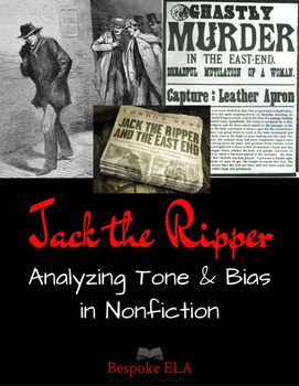 Tone and Bias in Nonfiction Lesson Bundle by Bespoke ELA