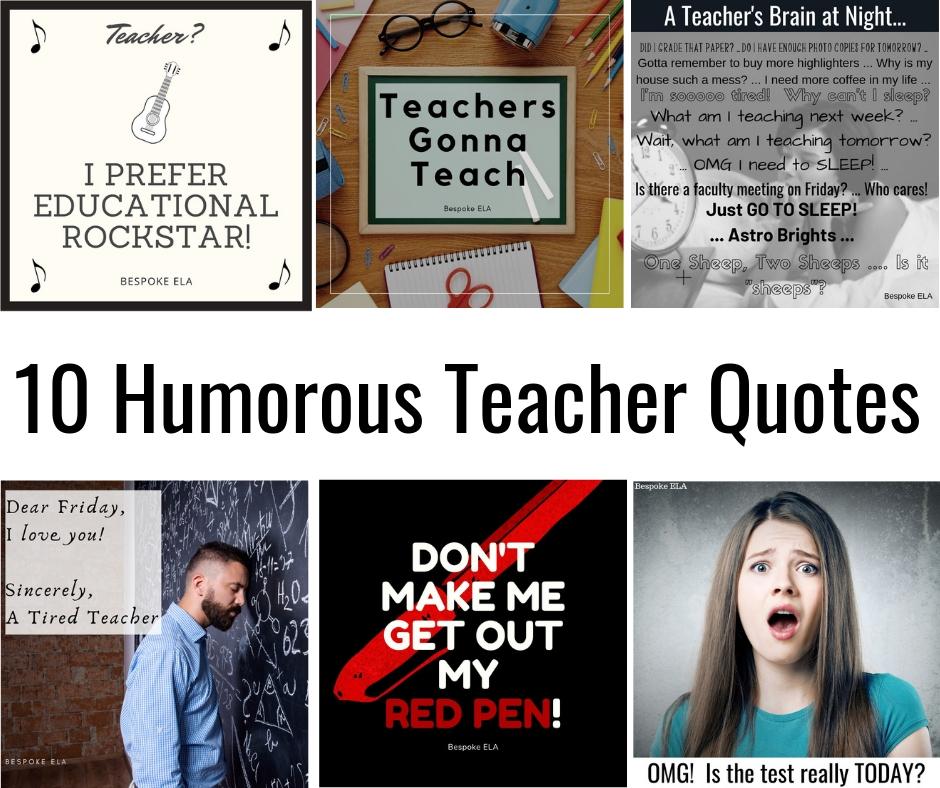 10 Humorous Teacher Quotes COVER.jpg