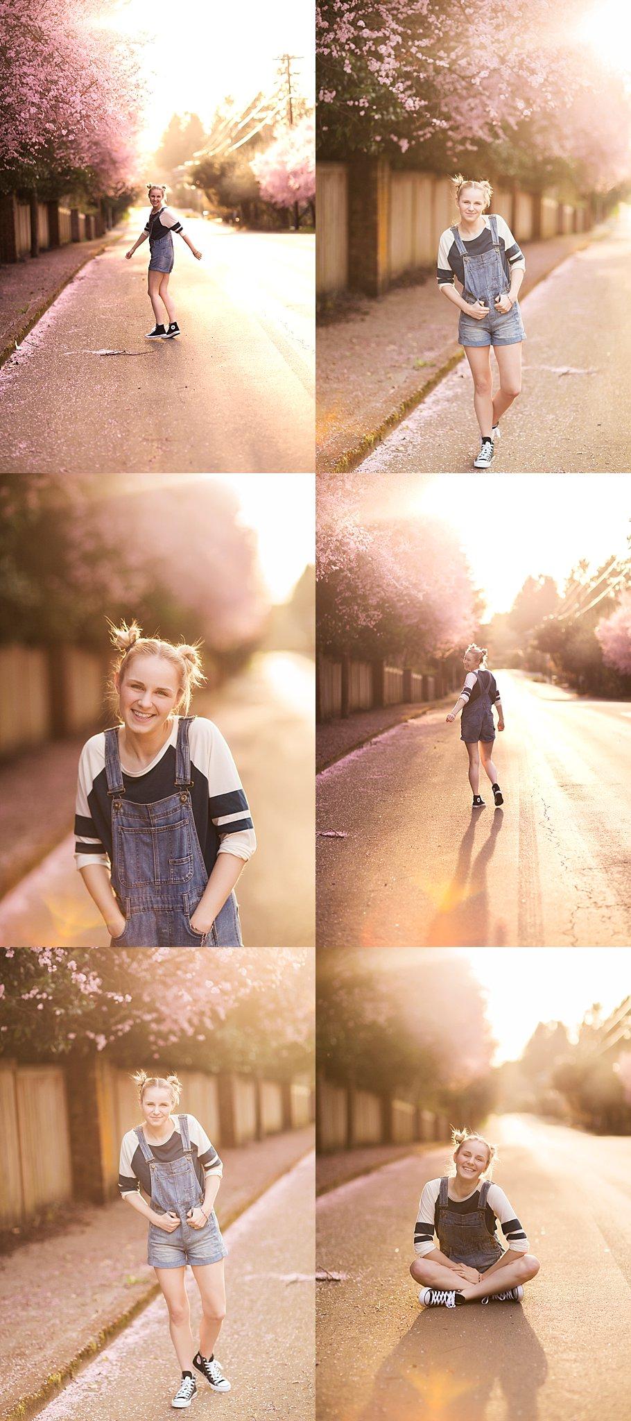 Portland Oregon Actress Lifestyle Photoshoot