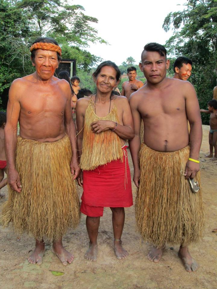 Members of the Yahua Tribe. Photo: Lee Evans