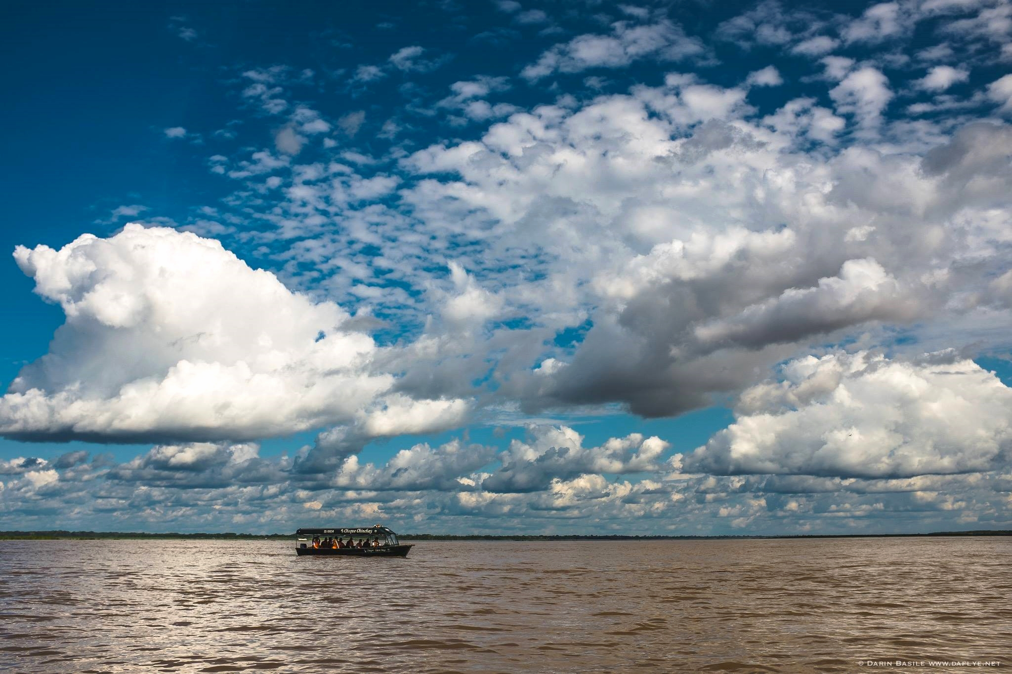 The mighty Rio Amazonas. Photo: Darin Basile