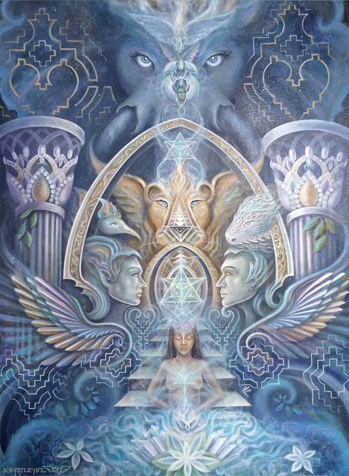 "Artwork: ""Arc of Grace"" by Krystleyez"