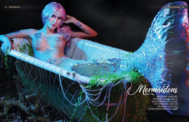 #gildedmagazine tearsheet 🧜🏼♀️🧜🏼♀️BE A MERMAID🧜🏼♀️ 🧜🏼♀️ Thank you so much to an amazing team. @technicolorcosplay @ms.josiemae @alisiasillimanbodypainter : : #mermaid #mermaidmakeup #mermaidcostume #mermaidhairdontcare #mermaiding #mermaidvibes #mermaidlife #mermaidlover #mermaidcostumes #mermaidhair #mermaiddreams #mermaid #mermaids #mermaiden #mermaidinspiration #mermaidsquad #mermaidmagic