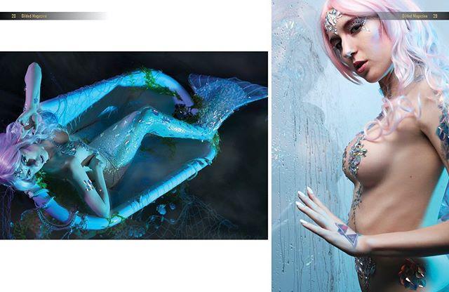 """This world is but a canvas to our imagination."" - Henry David Thoreau @technicolorcosplay @alisiasillimanbodypainter @ms.josiemae : : #fantasy #cosplaydenver #gildedmagazine #denvercosplay #denvermodel #mermaid #mermaidmakeup #mermaidcostume #mermaidhairdontcare #mermaiding #mermaidvibes #mermaidlife #mermaidlover #mermaidcostumes #mermaidhair #mermaiddreams #mermaid #mermaids #mermaiden #mermaidinspiration #mermaidsquad #mermaidmagic"