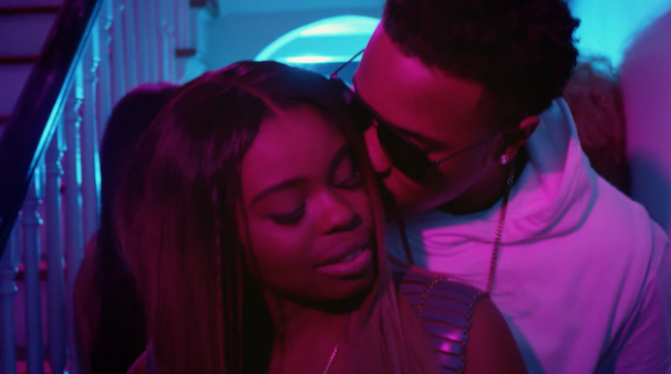"""Dreezy and Jeremih in """"Body"""" video."""