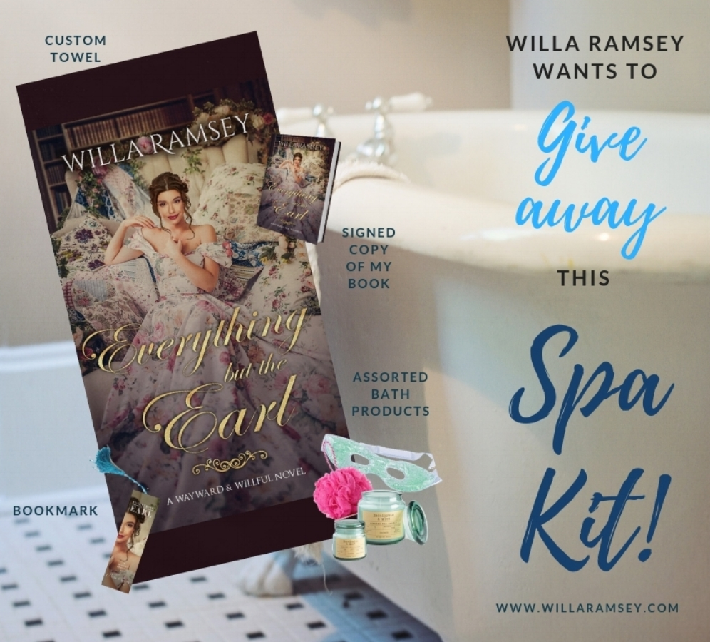 Giveaway, Interview, ReviewWith Love for Books Blog! -