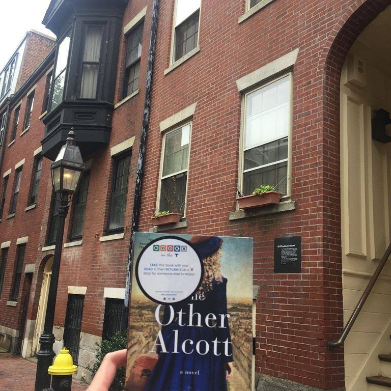 The Other Alcott spent a day exploring Boston as part of the city's Books on the T program.
